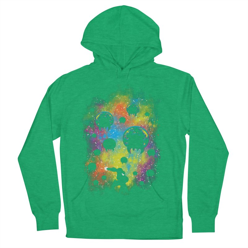 Galactic Warrior Men's French Terry Pullover Hoody by Daletheskater