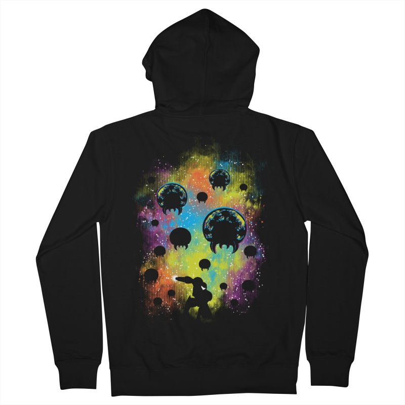 Galactic Warrior Women's French Terry Zip-Up Hoody by Daletheskater