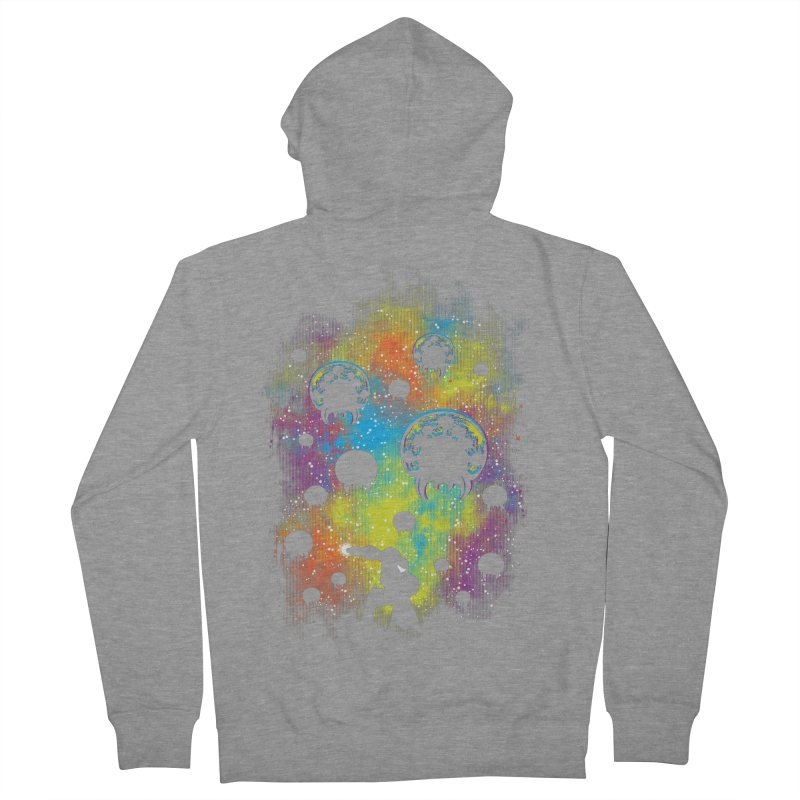 Galactic Warrior Men's French Terry Zip-Up Hoody by Daletheskater