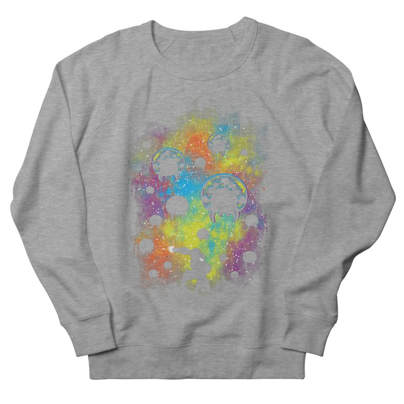 Galactic Warrior Women's French Terry Sweatshirt by Daletheskater