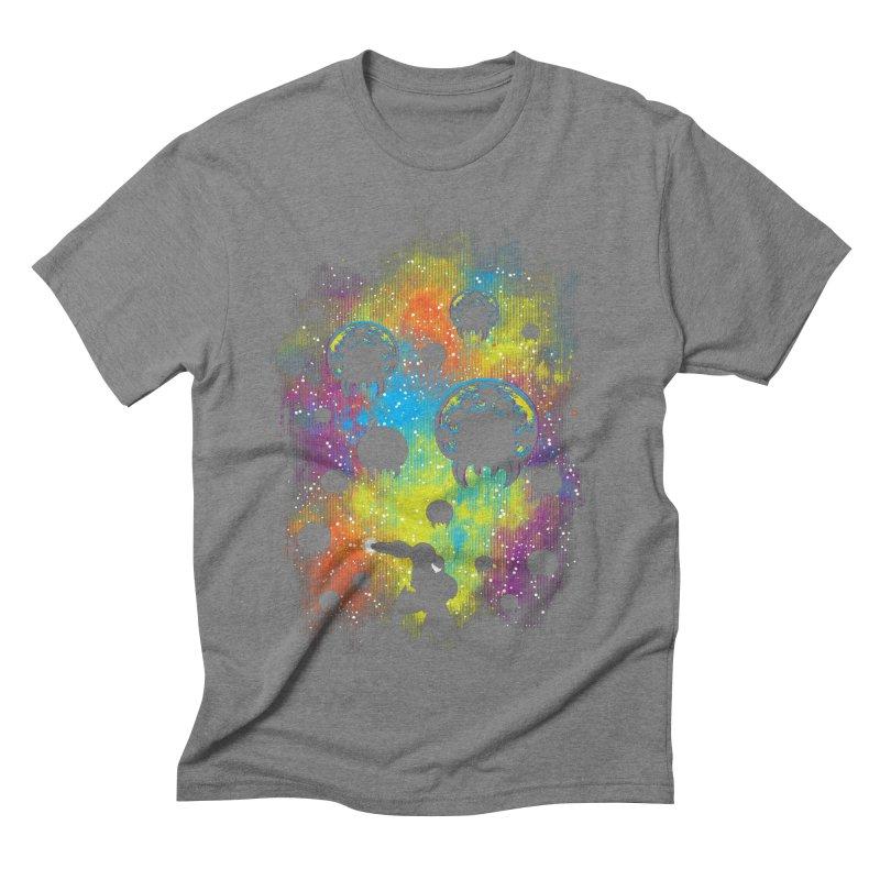 Galactic Warrior Men's Triblend T-Shirt by Daletheskater