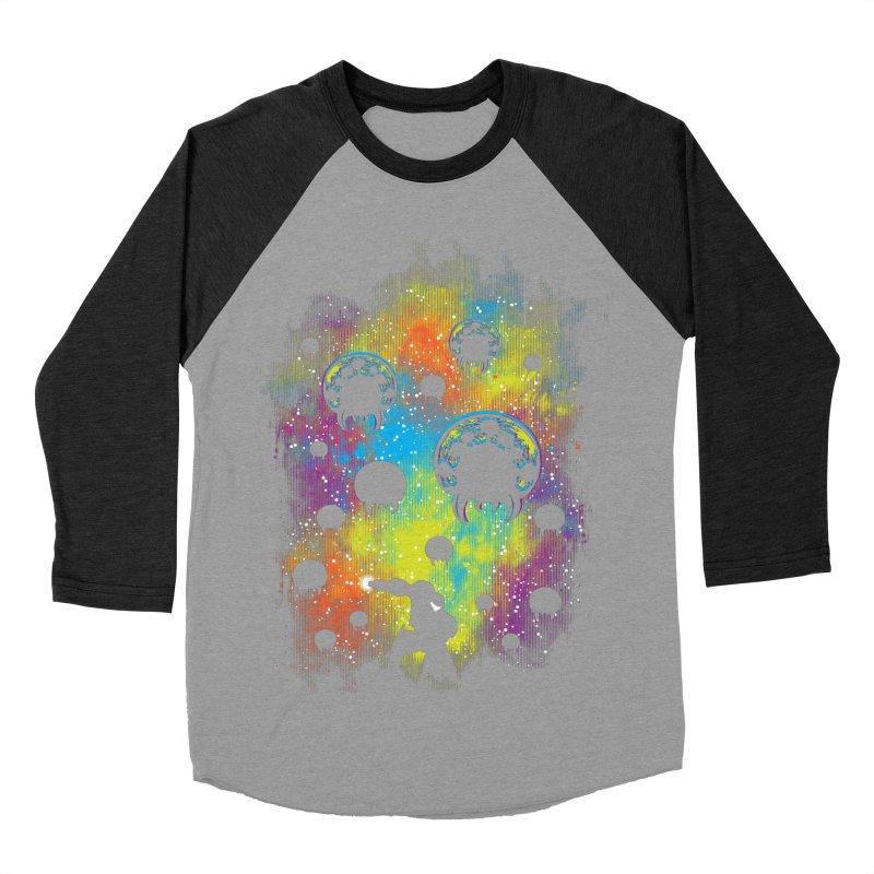 Galactic Warrior Women's Baseball Triblend Longsleeve T-Shirt by Daletheskater