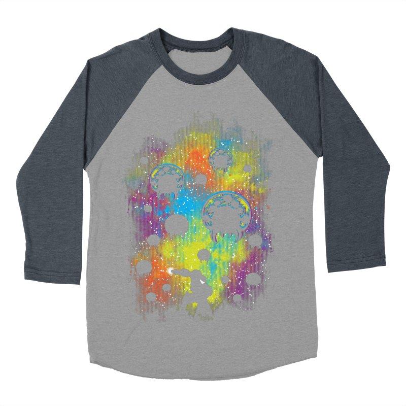 Galactic Warrior Men's Baseball Triblend Longsleeve T-Shirt by Daletheskater