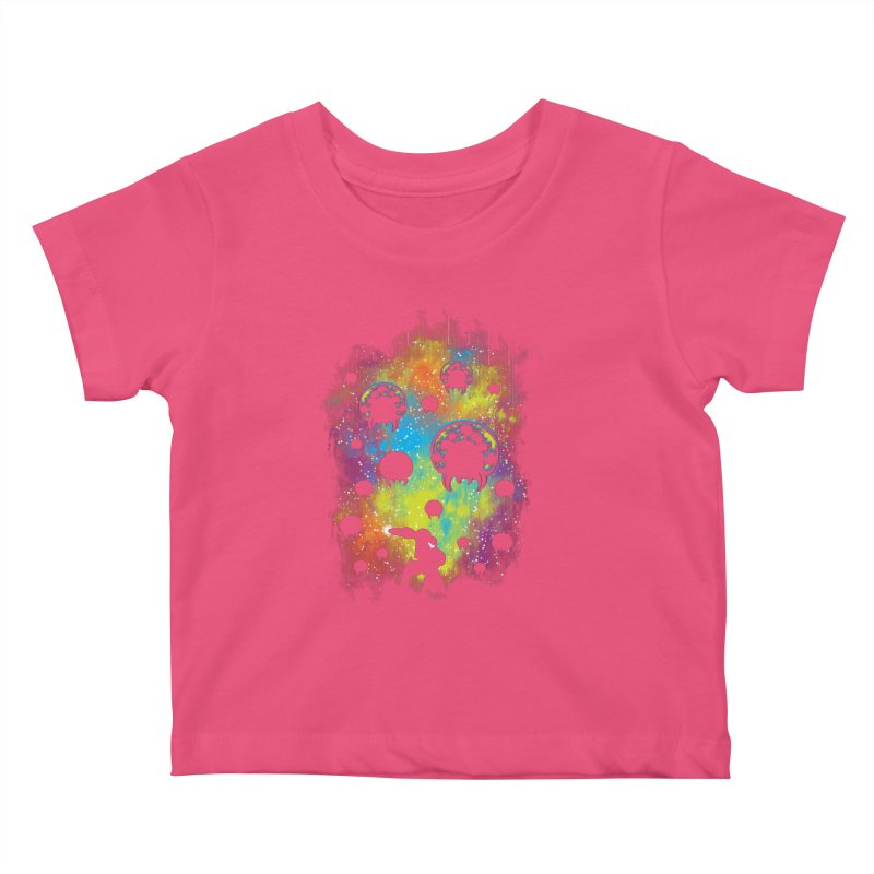 Galactic Warrior Kids Baby T-Shirt by Daletheskater