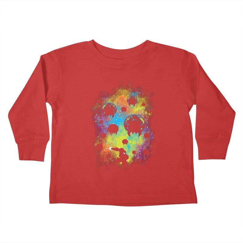 Galactic Warrior Kids Toddler Longsleeve T-Shirt by Daletheskater