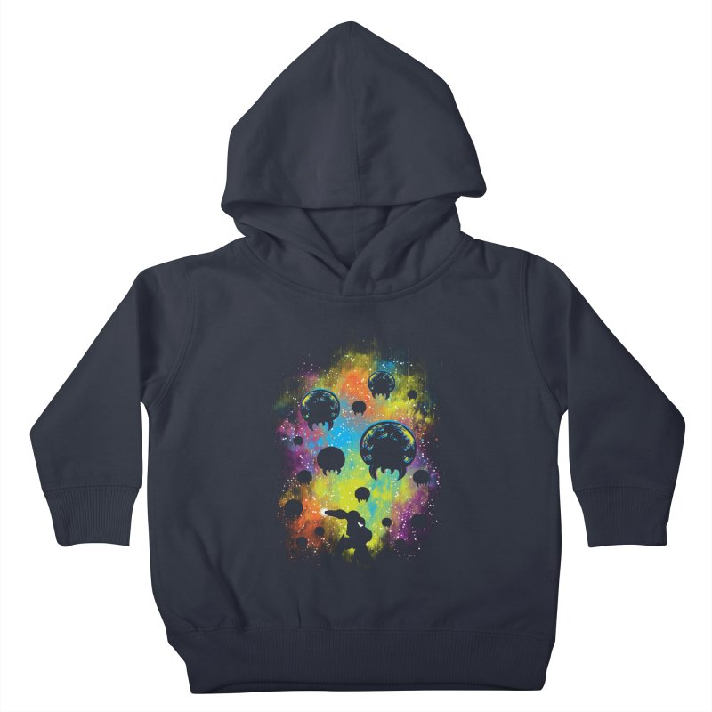 Galactic Warrior Kids Toddler Pullover Hoody by Daletheskater
