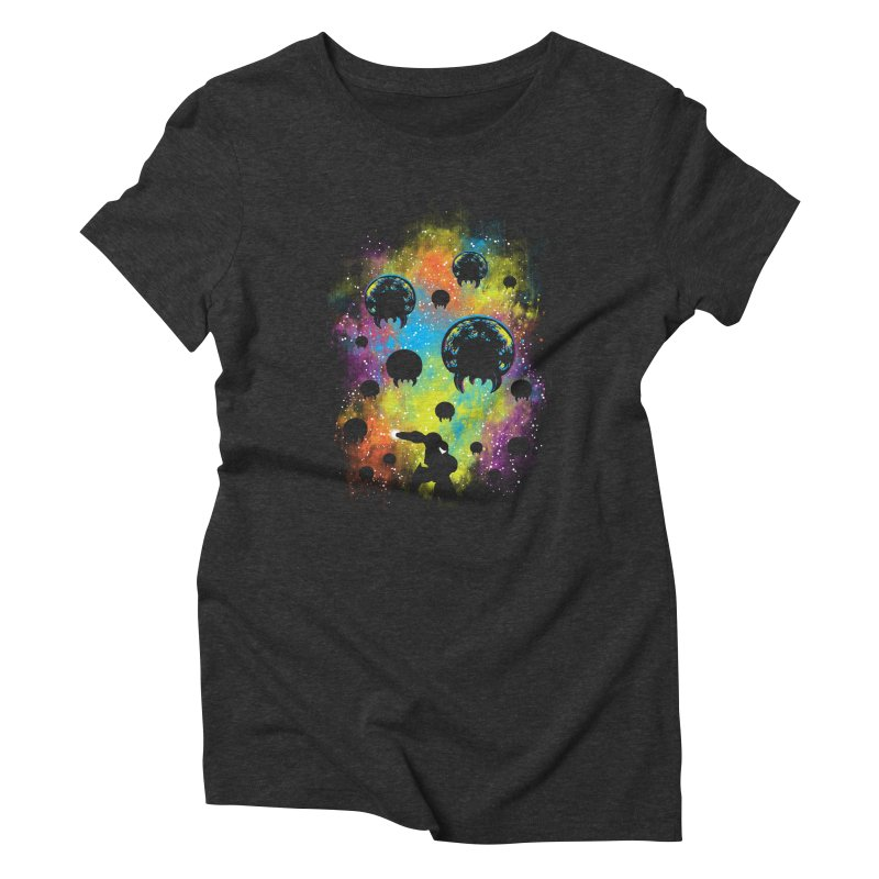 Galactic Warrior Women's Triblend T-Shirt by Daletheskater