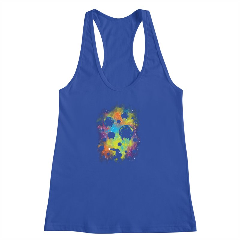 Galactic Warrior Women's Racerback Tank by Daletheskater