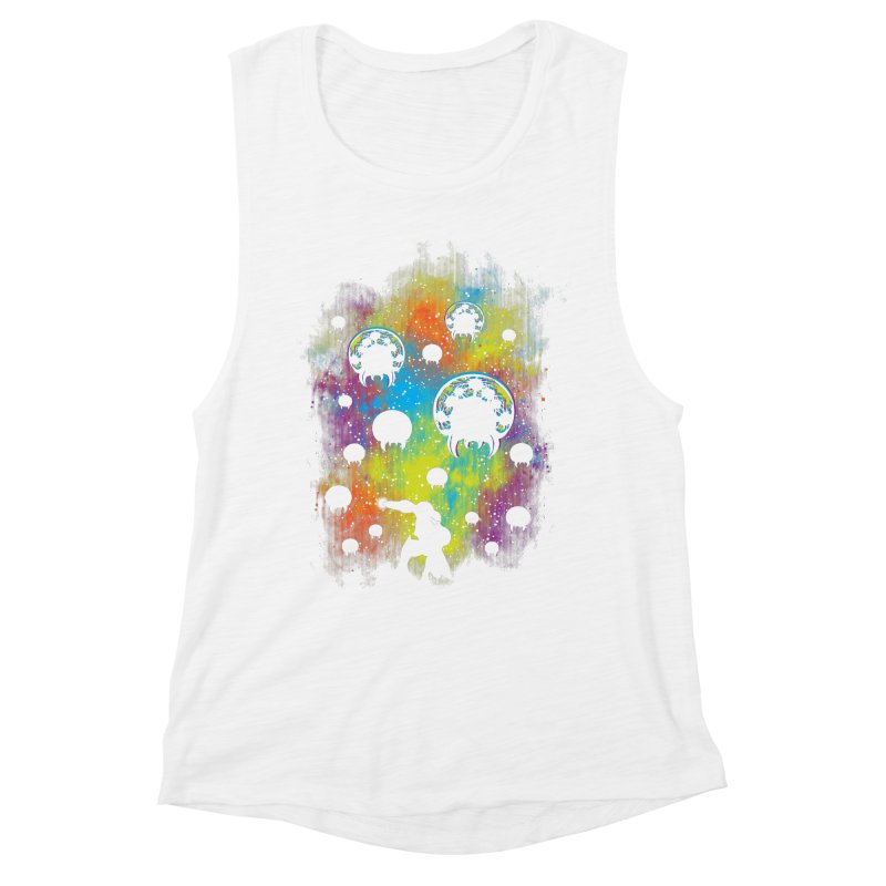 Galactic Warrior Women's Muscle Tank by Daletheskater