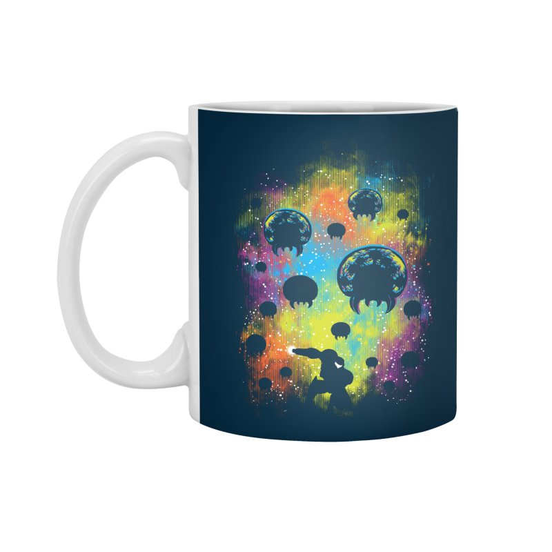Galactic Warrior Accessories Standard Mug by Daletheskater