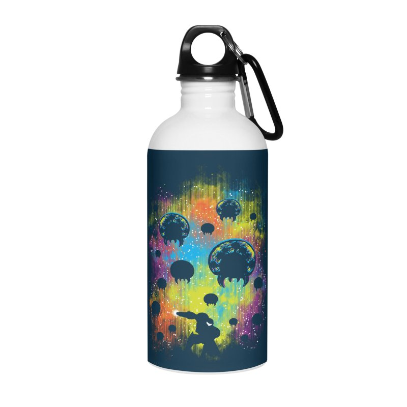 Galactic Warrior Accessories Water Bottle by Daletheskater