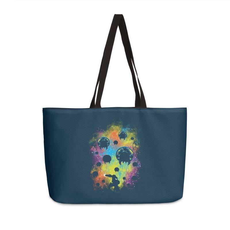 Galactic Warrior Accessories Weekender Bag Bag by Daletheskater
