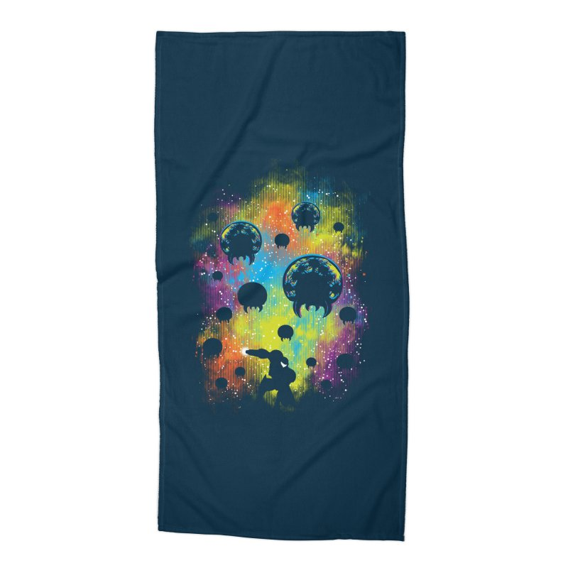 Galactic Warrior Accessories Beach Towel by Daletheskater