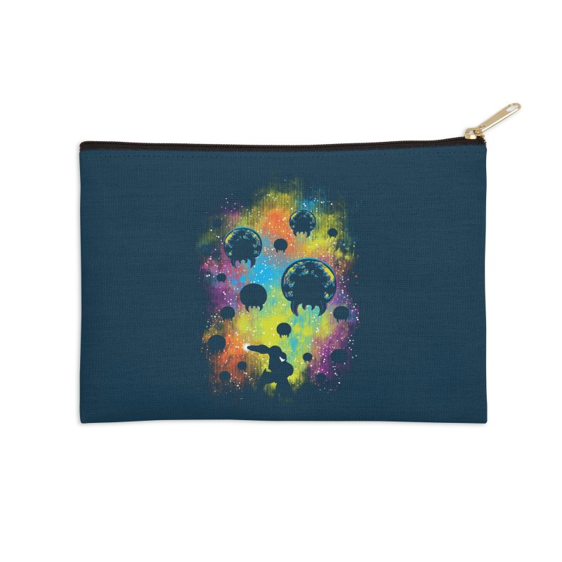 Galactic Warrior Accessories Zip Pouch by Daletheskater