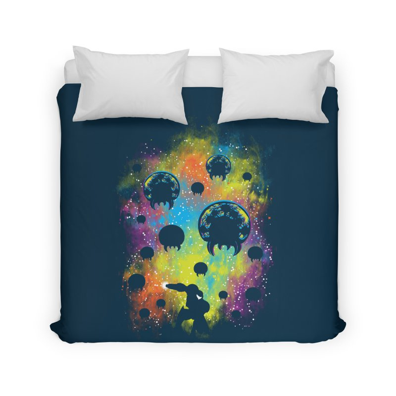 Galactic Warrior Home Duvet by Daletheskater