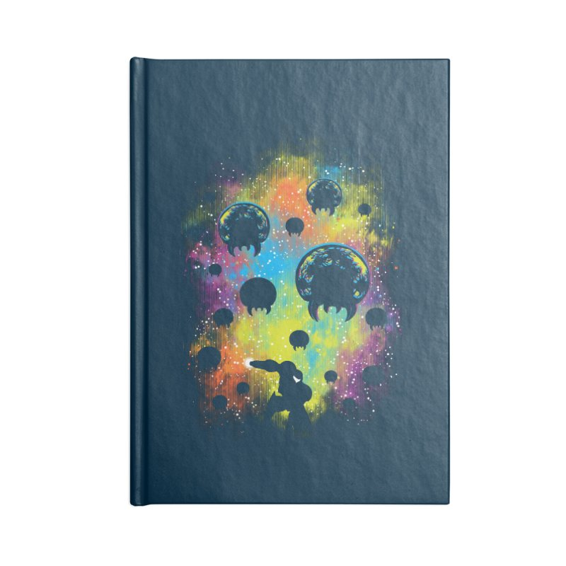 Galactic Warrior Accessories Blank Journal Notebook by Daletheskater