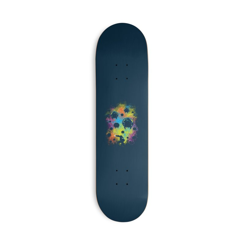Galactic Warrior Accessories Deck Only Skateboard by Daletheskater