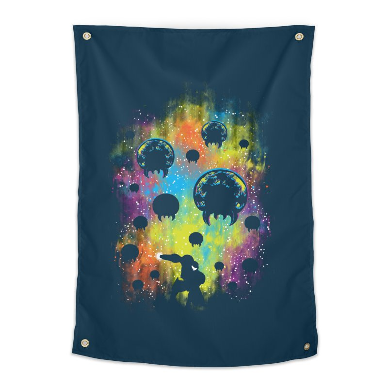 Galactic Warrior Home Tapestry by Daletheskater