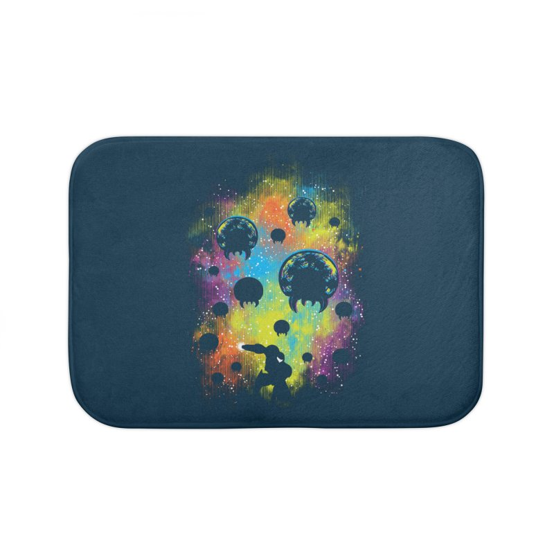 Galactic Warrior Home Bath Mat by Daletheskater
