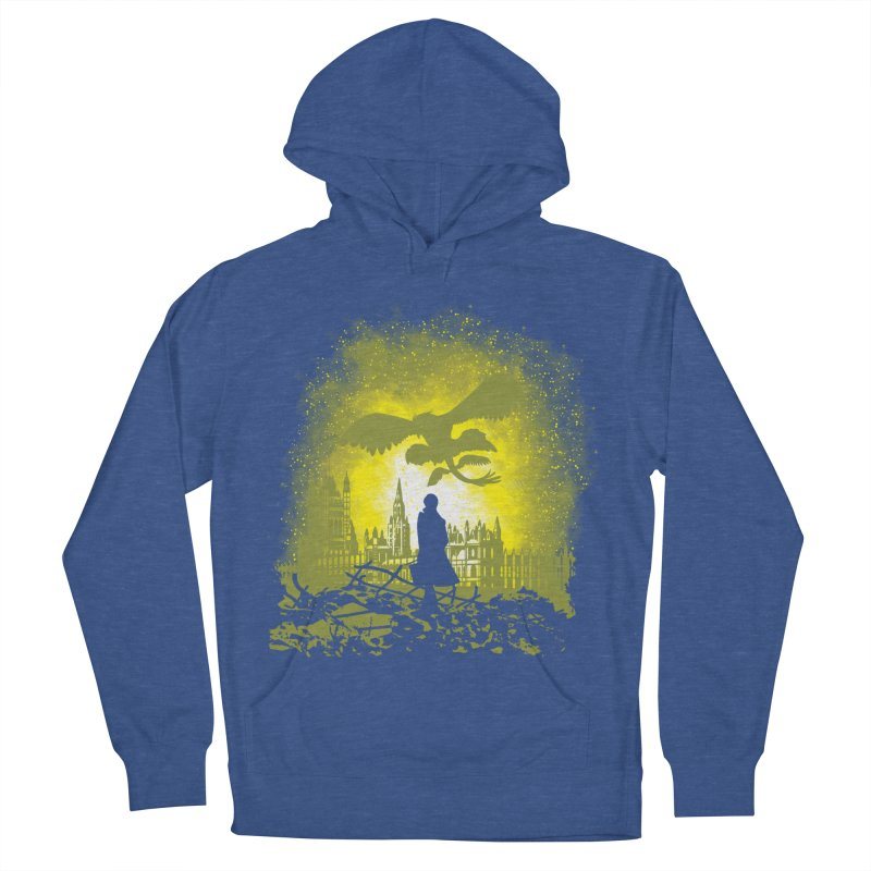 Parallel World Men's French Terry Pullover Hoody by Daletheskater