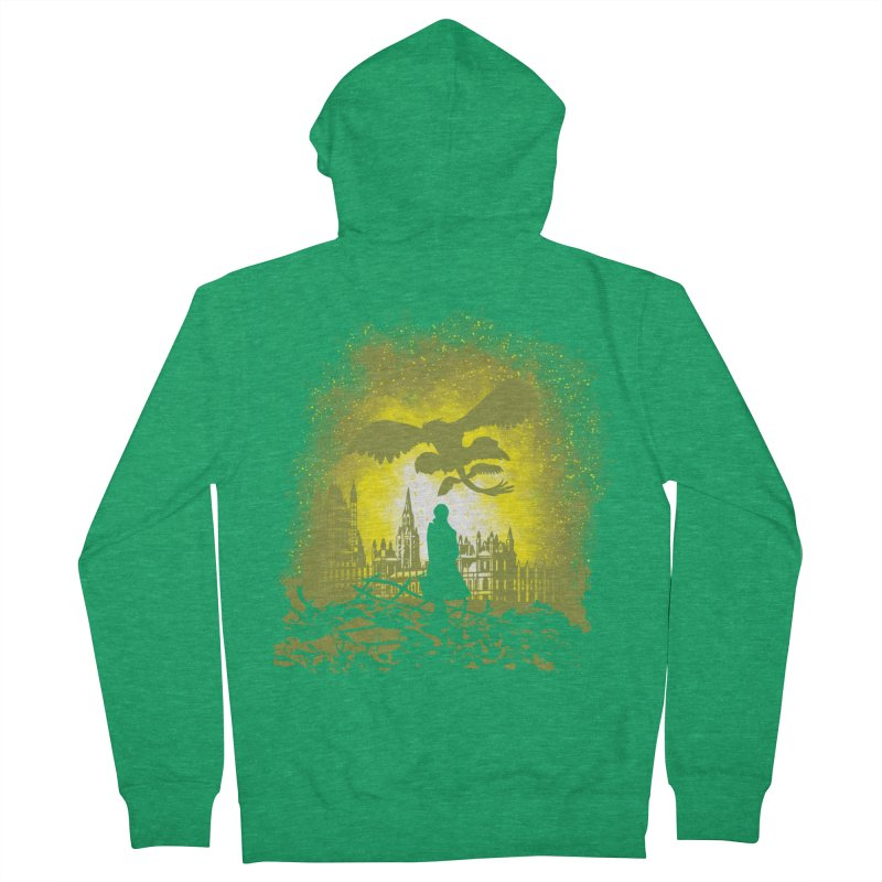 Parallel World Men's French Terry Zip-Up Hoody by Daletheskater