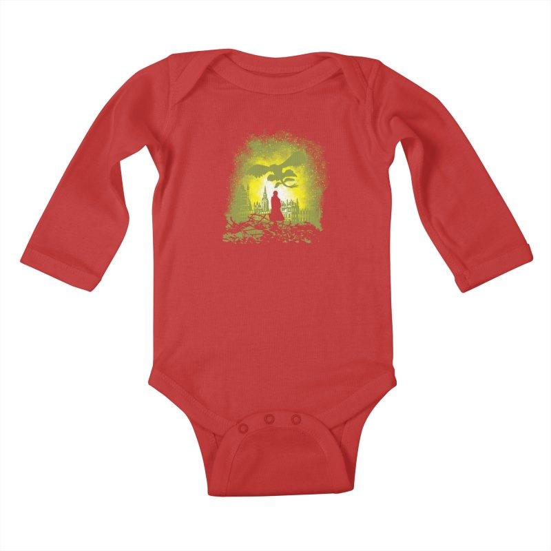 Parallel World Kids Baby Longsleeve Bodysuit by Daletheskater