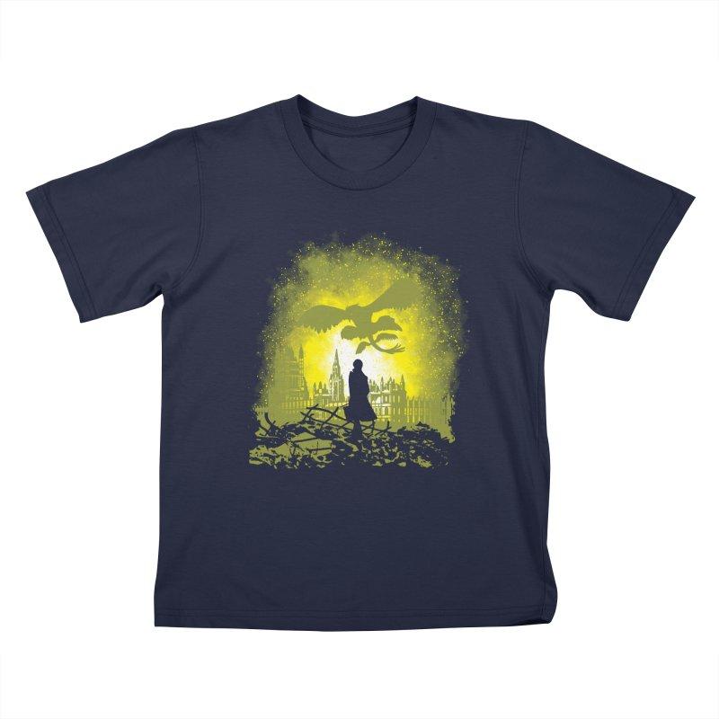 Parallel World Kids T-Shirt by Daletheskater