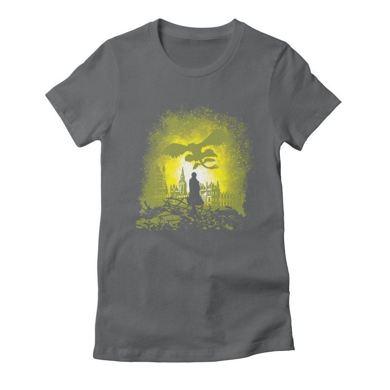 Parallel World Women's Fitted T-Shirt by Daletheskater