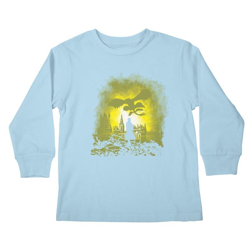 Parallel World Kids Longsleeve T-Shirt by Daletheskater