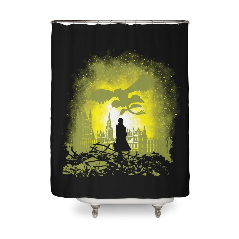 Parallel World Home Shower Curtain by Daletheskater