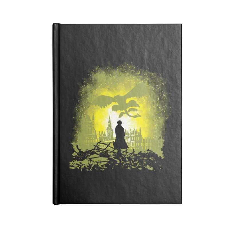 Parallel World Accessories Lined Journal Notebook by Daletheskater