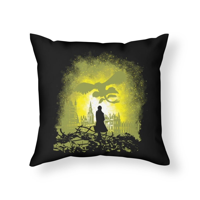 Parallel World Home Throw Pillow by Daletheskater