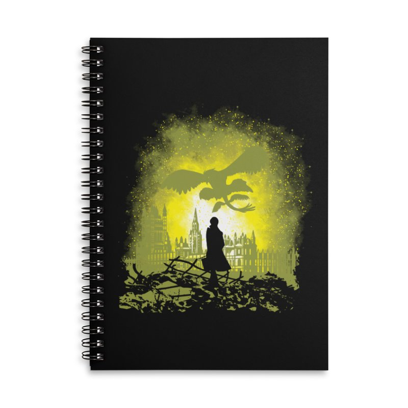 Parallel World Accessories Lined Spiral Notebook by Daletheskater