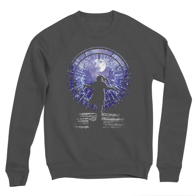 Love Forever Men's Sponge Fleece Sweatshirt by Daletheskater