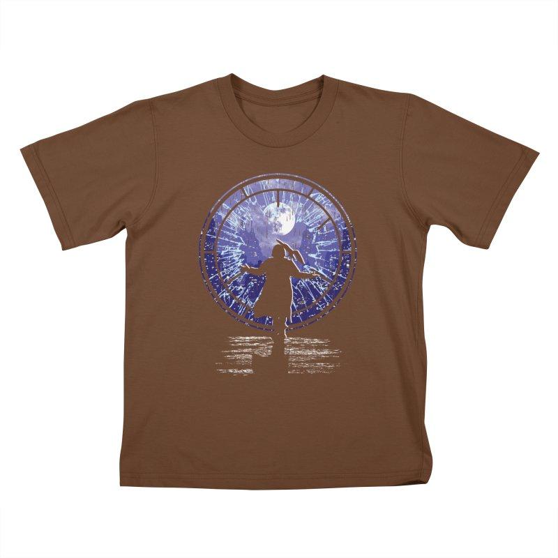 Love Forever Kids T-Shirt by Daletheskater