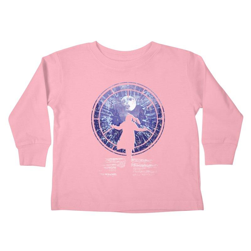 Love Forever Kids Toddler Longsleeve T-Shirt by Daletheskater