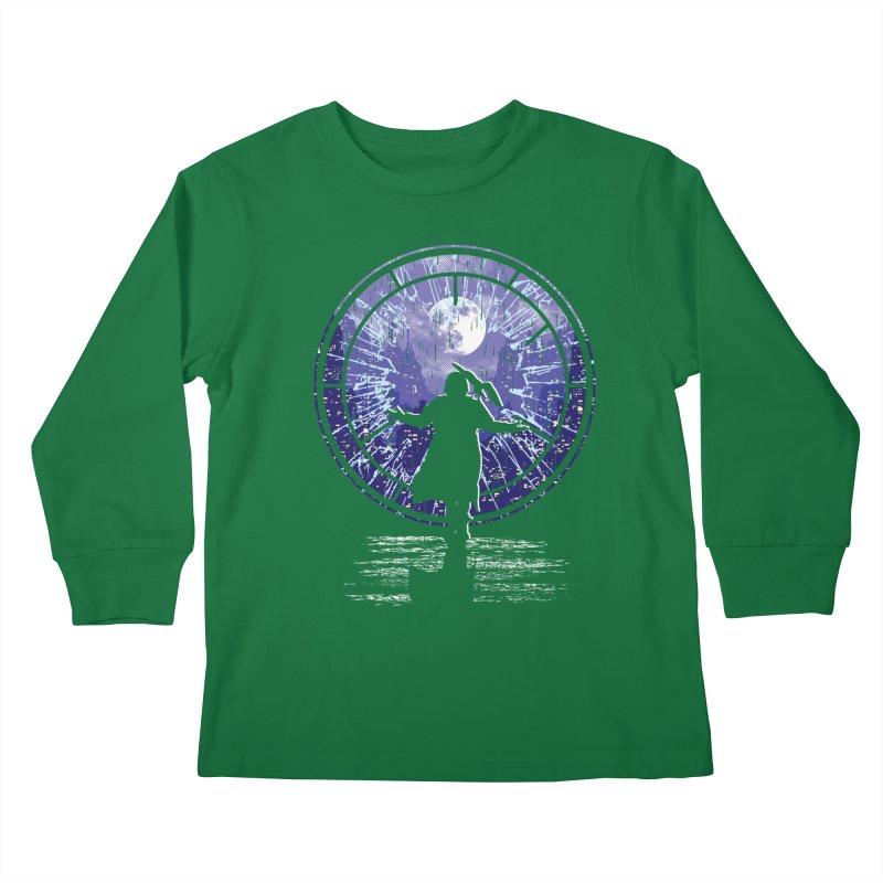 Love Forever Kids Longsleeve T-Shirt by Daletheskater