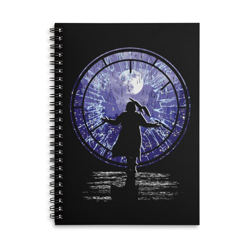 Love Forever Accessories Lined Spiral Notebook by Daletheskater