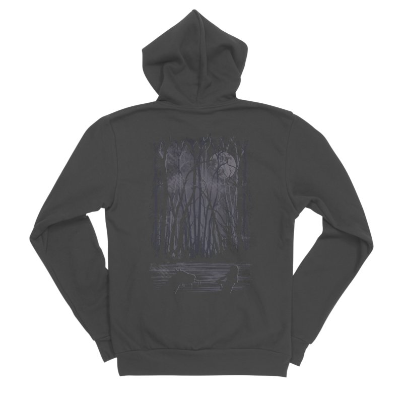 The Sadness Women's Sponge Fleece Zip-Up Hoody by Daletheskater