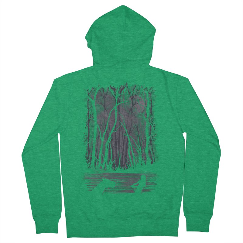 The Sadness Men's French Terry Zip-Up Hoody by Daletheskater