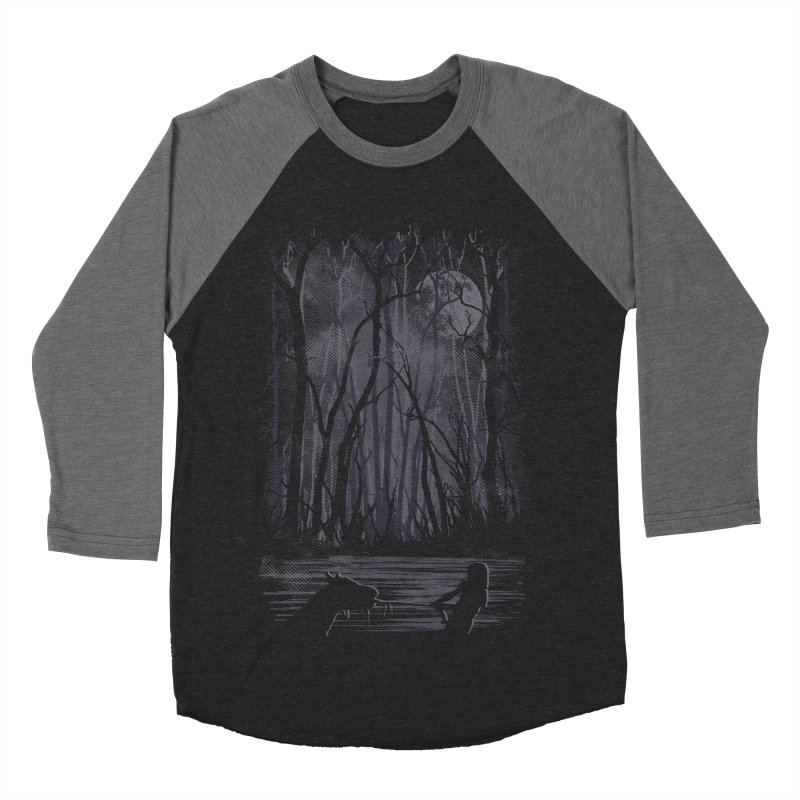 The Sadness Men's Baseball Triblend Longsleeve T-Shirt by Daletheskater