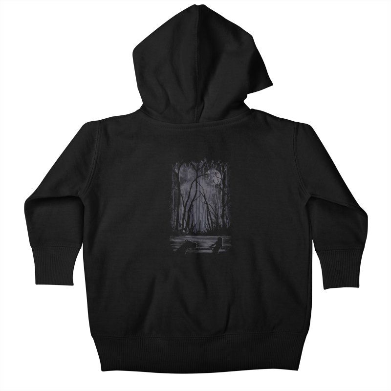 The Sadness Kids Baby Zip-Up Hoody by Daletheskater