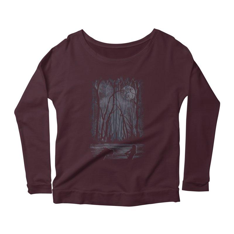 The Sadness Women's Scoop Neck Longsleeve T-Shirt by Daletheskater