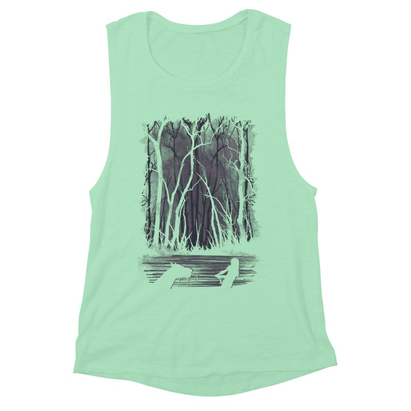 The Sadness Women's Muscle Tank by Daletheskater