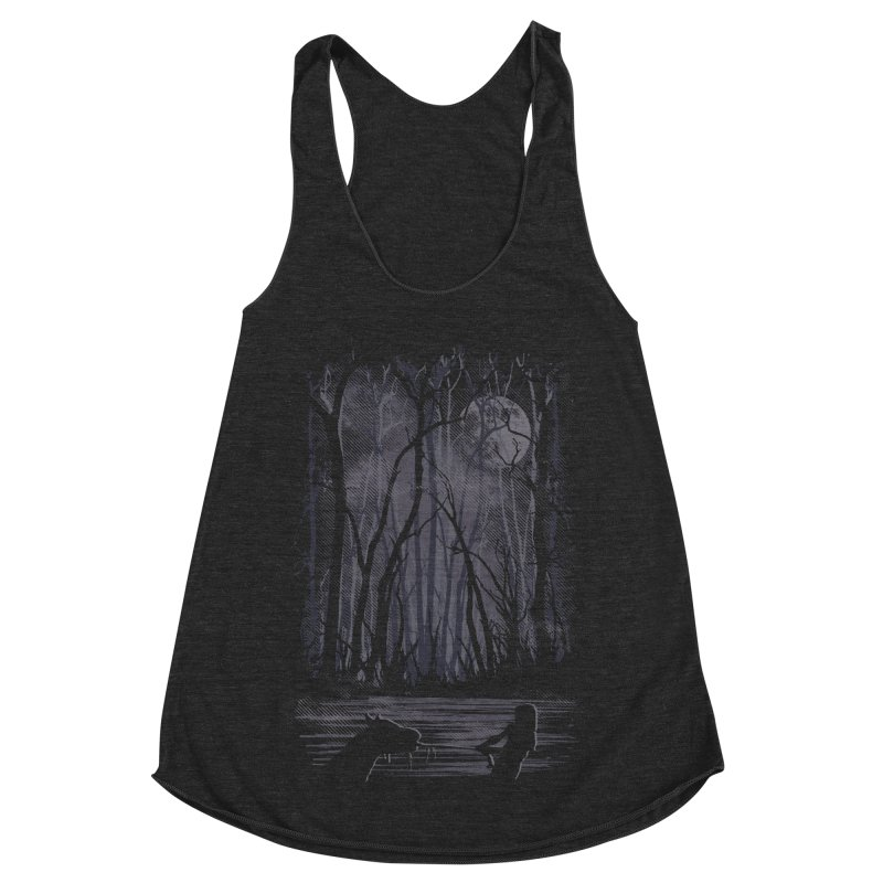 The Sadness Women's Racerback Triblend Tank by Daletheskater