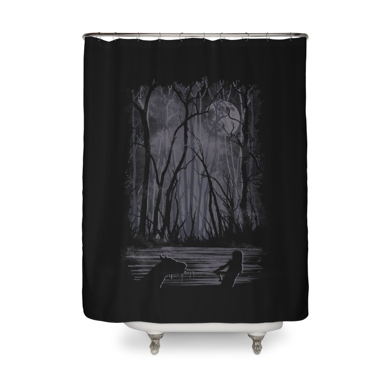 The Sadness Home Shower Curtain by Daletheskater