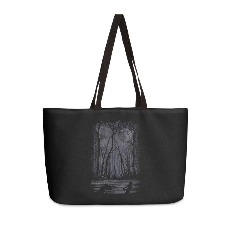 The Sadness Accessories Weekender Bag Bag by Daletheskater