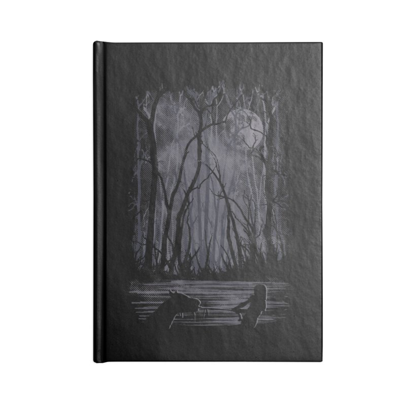 The Sadness Accessories Blank Journal Notebook by Daletheskater