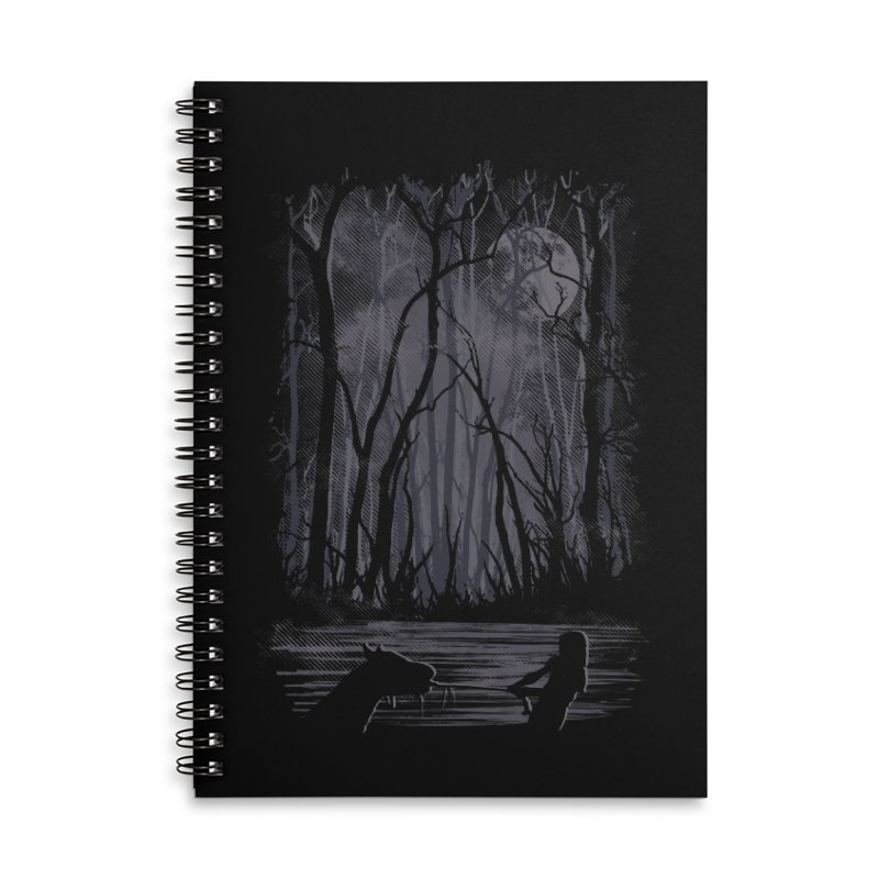 The Sadness Accessories Lined Spiral Notebook by Daletheskater