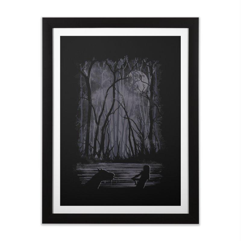 The Sadness Home Framed Fine Art Print by Daletheskater